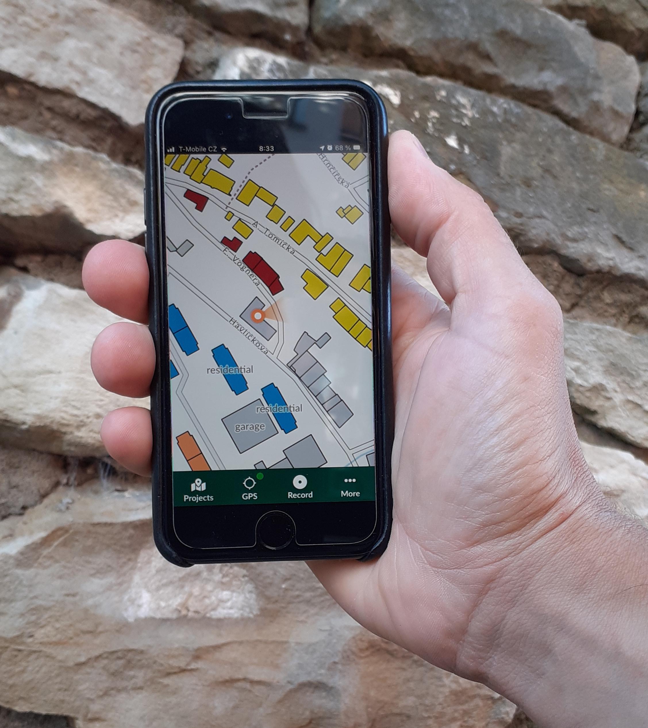 qgis map © OpenStreetMap contributors