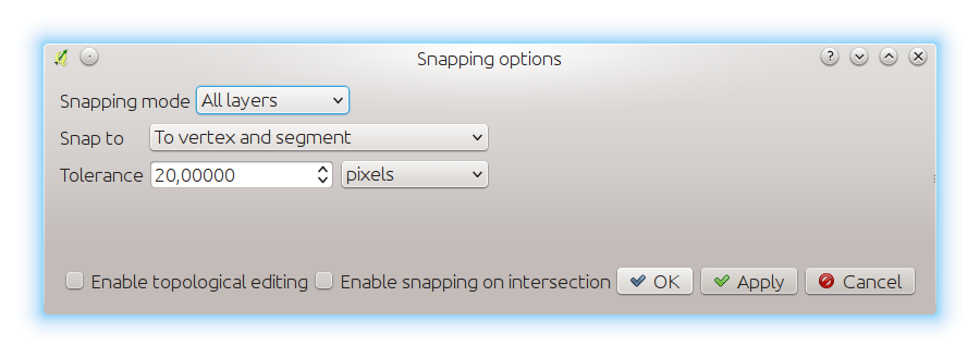 New snapping modes