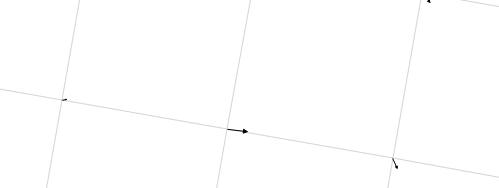 Vectors on default mesh in Crayfish (Click to enlarge)