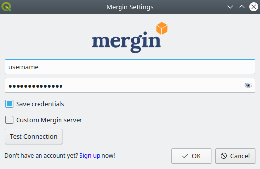 Sharing projects through Mergin