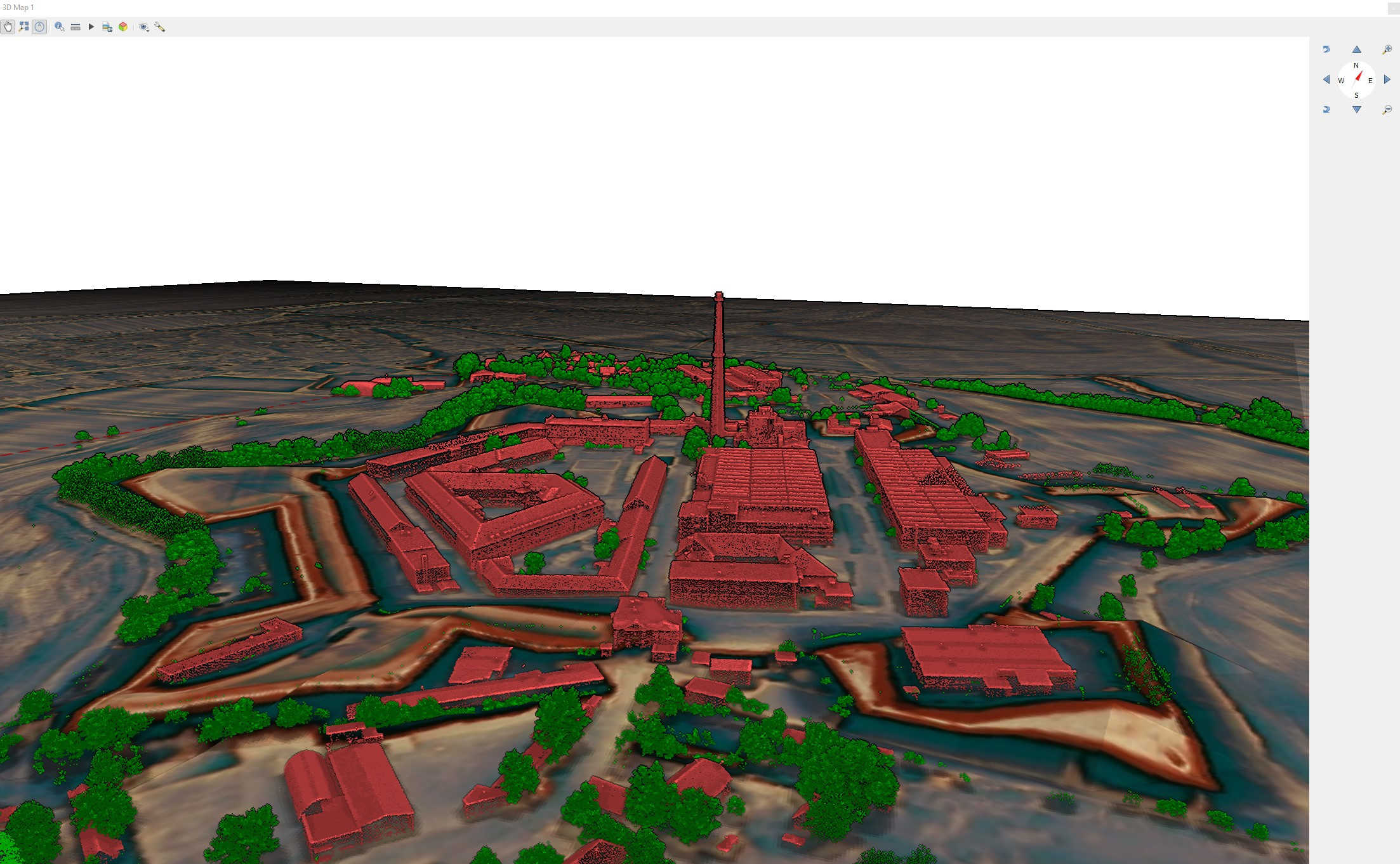 Point cloud data in QGIS 3D