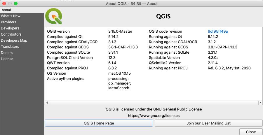 QGIS3.16